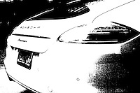 black and white panamera