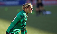 Portland, OR - Saturday May 27, 2017: Britt Eckerstrom during a regular season National Women's Soccer League (NWSL) match between the Portland Thorns FC and the Boston Breakers at Providence Park.