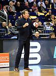 12.02.2019, Mercedes Benz Arena, Berlin, GER, ALBA ERLIN vs.  Basketball Loewen Braunschweig, <br /> im Bild (Headcoach) Frank Menz (Braunschweig)<br /> <br />      <br /> Foto &copy; nordphoto / Engler