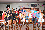 Gordon Buckley, St Brendan's Killarney and David McSweeney St Annes Road, Killarney seated centre who celebrated their 21st birthday with their family and friends in McSorley's bar, killarney on Saturday night