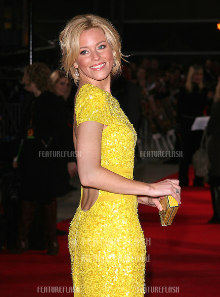 Elizabeth Banks arriving at the European Premiere of 'The Hunger Games' at the O2 Arena, London. 14/03/2012 Picture by: Alexandra Glen / Featureflash