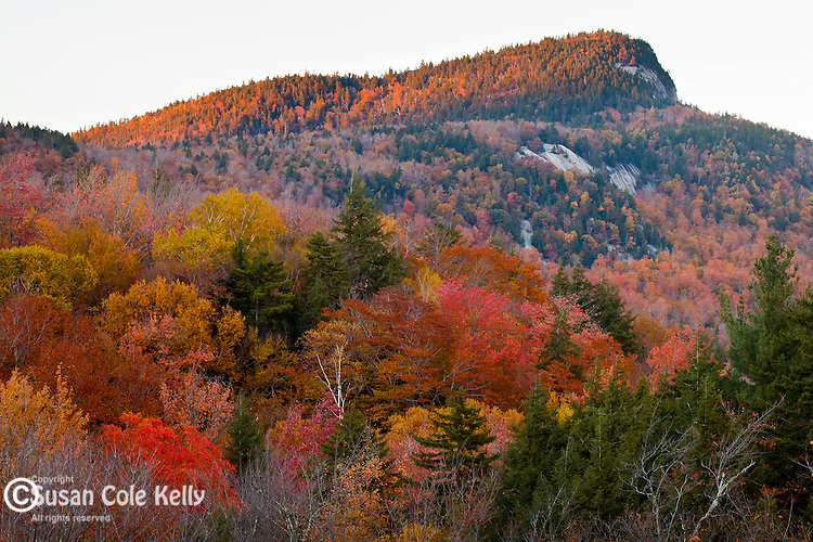 Green Cliff, Kancamagus Pass, White Mountain National Forest, NH, USA