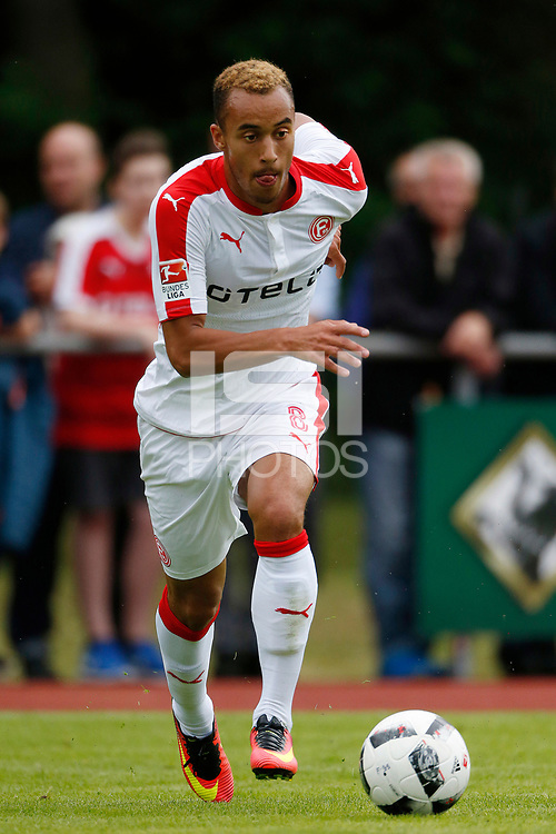 Kaarst, Germany, pre season friendly, 2. Fu&sect;ball- BL - SG Kaarst : Fortuna DŸsseldorf 1-6 30.06.2016 auf Anlage des SportzentrumsKaarster See<br /> Jerome KIESEWETTER (F95)<br /> <br />   Duesseldorf .<br /> .