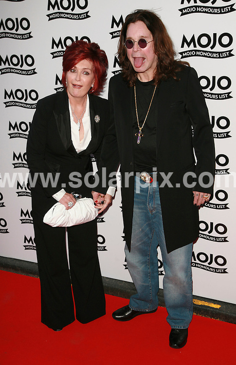 **ALL ROUND PICTURES FROM SOLARPIX.COM**.Mojo Music Awards Honours List 2007 at the Brewery, London..This pic: Sharon & Ozzy Osbourne..JOB REF:  4094  GMT   DATE: 18.06.07.**MUST CREDIT SOLARPIX.COM OR DOUBLE FEE WILL BE CHARGED* *UNDER NO CIRCUMSTANCES IS THIS IMAGE TO BE REPRODUCED FOR ANY ONLINE EDITION WITHOUT PRIOR PERMISSION*
