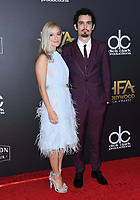 04 November 2018 - Beverly Hills, California - Damien Chazelle, Olivia Hamilton . 22nd Annual Hollywood Film Awards held at Beverly Hilton Hotel. <br /> CAP/ADM/BT<br /> &copy;BT/ADM/Capital Pictures
