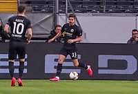 Andre Silva (Eintracht Frankfurt) - 12.03.2020: Eintracht Frankfurt vs. FC Basel, UEFA Europa League, Achtelfinale, Commerzbank Arena<br /> DISCLAIMER: DFL regulations prohibit any use of photographs as image sequences and/or quasi-video.