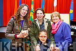 Attending the Grandparents day in Gaelscoil Mhic Easminn on Thursday morning last. L to r: Ita Leahy, Mary Louise O'Connor, Marion and Roisin Locke.