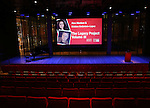 The stage for The Dramatists Guild Fund presents 'The Legacy Project: Volume III' screening  at The Time Center on December 3, 2016 in New York City.