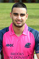 Gurjit Sandhu in the Middlesex Friends Life Twenty 20 Kit - Middlesex County Cricket Club Press Day at Lords Cricket Ground, London - 08/04/13 - MANDATORY CREDIT: Rob Newell/TGSPHOTO - Self billing applies where appropriate - 0845 094 6026 - contact@tgsphoto.co.uk - NO UNPAID USE.
