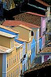 Restauração do Pelourinho, Salvador, Bahia. 1993. Foto de Stefan Kolumban.