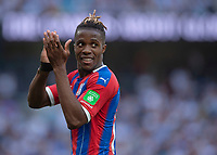 Wilfried Zaha of Crystal Palace during the Premier League match between Tottenham Hotspur and Crystal Palace at Wembley Stadium, London, England on 14 September 2019. Photo by Vince  Mignott / PRiME Media Images.