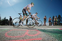Pierre Rolland (FRA)<br /> <br /> Tour de France 2013<br /> stage 20: Annecy to Annecy-Semnoz<br /> 125km