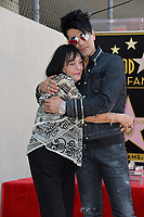 Criss Angel &amp; mother Dimitra Sarantakos at the Hollywood Walk of Fame Star Ceremony honoring illusionist Criss Angel. Hollywood Boulevard, Los Angeles, USA 20 July 2017<br /> Picture: Paul Smith/Featureflash/SilverHub 0208 004 5359 sales@silverhubmedia.com