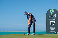 Henrik Stenson (SWE) on the 16th tee during the Pro-Am at the Saudi International powered by Softbank Investment Advisers, Royal Greens G&CC, King Abdullah Economic City,  Saudi Arabia. 29/01/2020<br /> Picture: Golffile | Fran Caffrey<br /> <br /> <br /> All photo usage must carry mandatory copyright credit (© Golffile | Fran Caffrey)