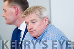 Dermot Lynch at the Kerry County Board meeting on Monday night where Peter Keane has been ratified to replace Eamonn Fitzmaurice as Kerry manager on a three-year term.