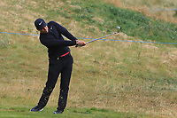 Adrien Saddier (FRA) on the 2nd fairway during Round 1 of the Dubai Duty Free Irish Open at Ballyliffin Golf Club, Donegal on Thursday 5th July 2018.<br /> Picture:  Thos Caffrey / Golffile