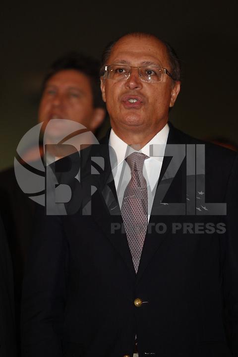 SAO PAULO, 10 DE MAIO DE 2012.  8 PREMIO MARIO COVAS. O Governador Geraldo Alckmin durante a entrega do oitavo prêmio Mario Covas na noite desta quinta feira no Palacio dos Bandeirantes FOTO: ADRIANA SPACA - BRAZIL PHOTO PRESS