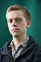 Owen Jones, writer of the book Chavs .  Jones exposes the prejudice and portrays a far more complex reality in which the wielding of crass stereotypes is used by governments as a smokescreen to avoid genuine engagement with social and economic problems. at The Edinburgh International Book Festival 2011.  Credit Geraint Lewis