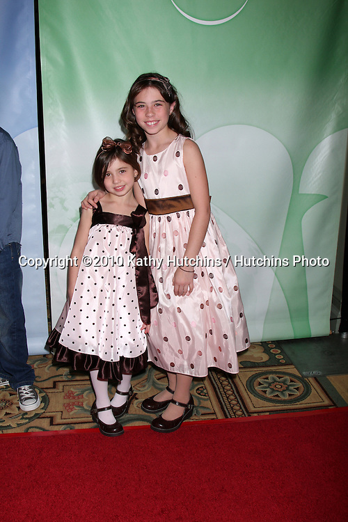 Savannah & Emily Rae.arriving at the 2010 Winter NBC TCA Party .Langford Hotel.Pasadena, CA.January 10, 2010.©2010 Kathy Hutchins / Hutchins Photo....
