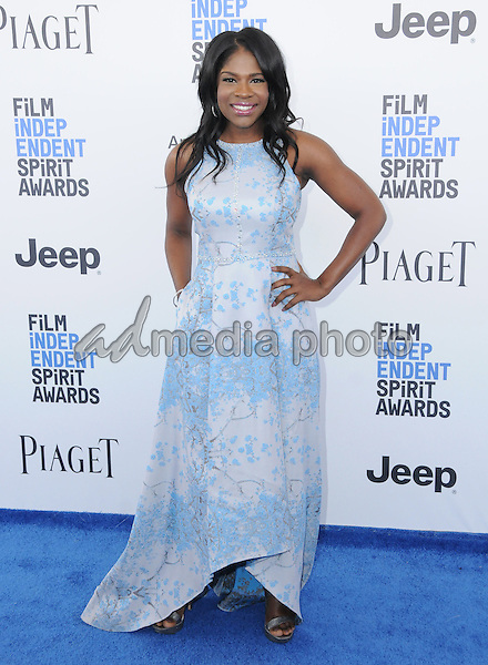25 February 2017 - Santa Monica, California - Edwina Findley Dickerson. 2017 Film Independent Spirit Awards held held at the Santa Monica Pier. Photo Credit: Birdie Thompson/AdMedia