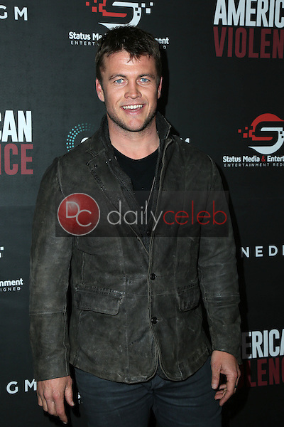 "Luke Hemsworth<br /> at the ""American Violence"" World Premiere, Egyptian Theater, Hollywood, CA 01-25-17<br /> David Edwards/DailyCeleb.com 818-249-4998"