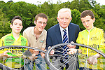 TOUR: Frank Hayes, Kerry Group launches the Kerry Cycling Tour which will be held in Beaufort on the 2-4 August. Pictured here with l-r: Kevin Tangney (Killorglin CC), Kieran Doherty (Race Director) and Michael Wilkins (Killorglin CC).   Copyright Kerry's Eye 2008