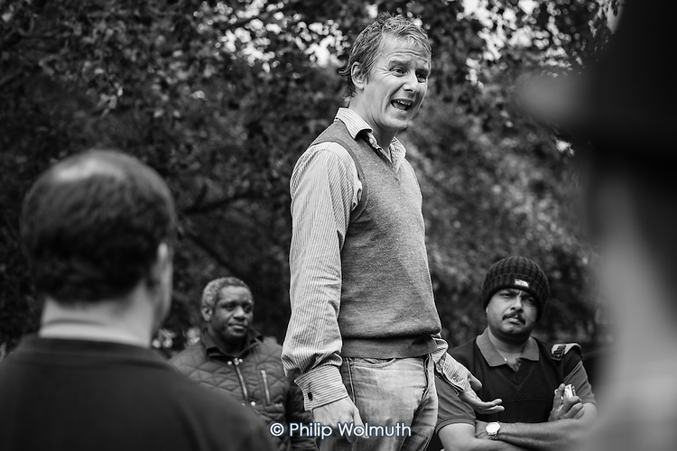 Heiko Khoo, Speakers' Corner, Hyde Park, London; 2014.
