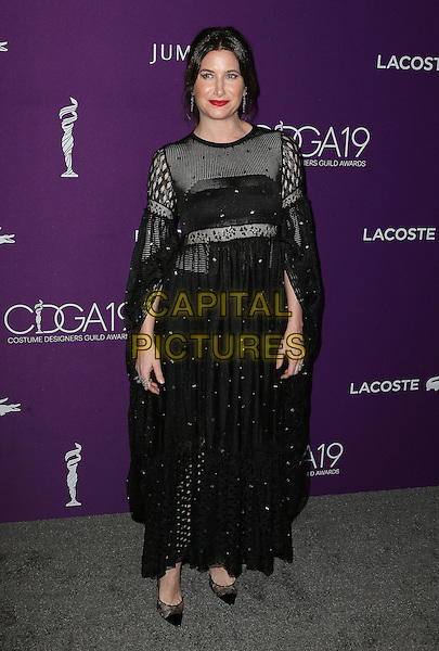21 February 2017 - Beverly Hills, California - Kathryn Hahn. 19th CDGA Costume Designers Guild Awards held at the Beverly Hilton. <br /> CAP/ADM<br /> &copy;ADM/Capital Pictures