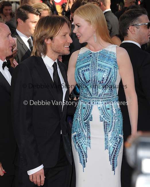 Keith Urban, Nicole Kidman at The 64th Anual Primetime Emmy Awards held at Nokia Theatre L.A. Live in Los Angeles, California on September  23,2012                                                                   Copyright 2012 Hollywood Press Agency