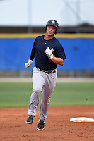New York Yankees Drew Bridges (47) during a minor league spring training game against the Toronto Blue Jays on March 24, 2015 at the Englebert Complex in Dunedin, Florida.  (Mike Janes/Four Seam Images)