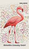 Lamont, CUTE ANIMALS, LUSTIGE TIERE, ANIMALITOS DIVERTIDOS, paintings+++++,USGTPW2562,#ac#, EVERYDAY,flamingo,flamingos