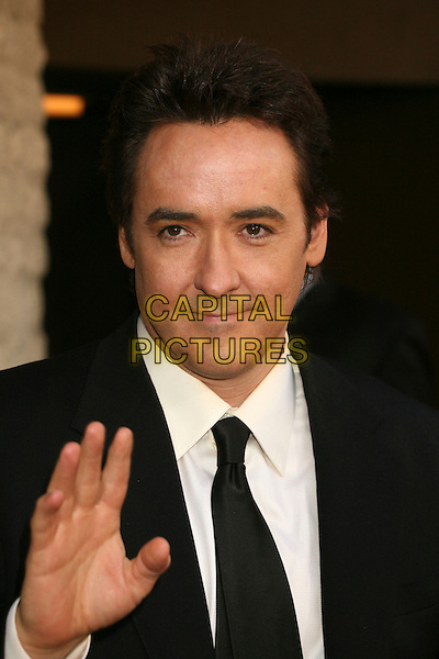 "JOHN CUSACK.""1408"" World Premiere at Mann's National Theatre, Westwood, California, USA..June 12th, 2007.headshot portrait hand palm waving .CAP/ADM/BP.©Byron Purvis/AdMedia/Capital Pictures"