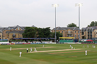 Play starts under the floodlights during Essex CCC vs Warwickshire CCC, Specsavers County Championship Division 1 Cricket at The Cloudfm County Ground on 22nd June 2017