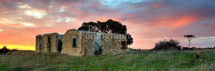 One Kangaroo Island old homes at Kingscote South Australia took this shot early evening just before the sunset.