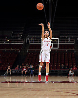 Stanford, CA - December 18, 2017:  Stanford Women's Basketball falls to Western Illinois 71-64 at Maples Pavilion.