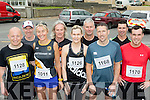 On the Run<br /> ---------------<br /> Ballyheigue running group about to take part in the Half on the Head, half marathon in Ballyheigue last Saturday morning, L-R Declan Sheehan, Sean Kenny, Yvonne Sheehan, Terence Dineen, Marian Godley, Matt Stack, Ed Flahive, Willie Joe Leen and Chris Trenot.