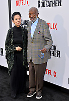 "LOS ANGELES, USA. June 04, 2019: Jacqueline Avant & Clarence Avant at the premiere for ""The Black Godfather"" at Paramount Theatre.<br /> Picture: Paul Smith/Featureflash"