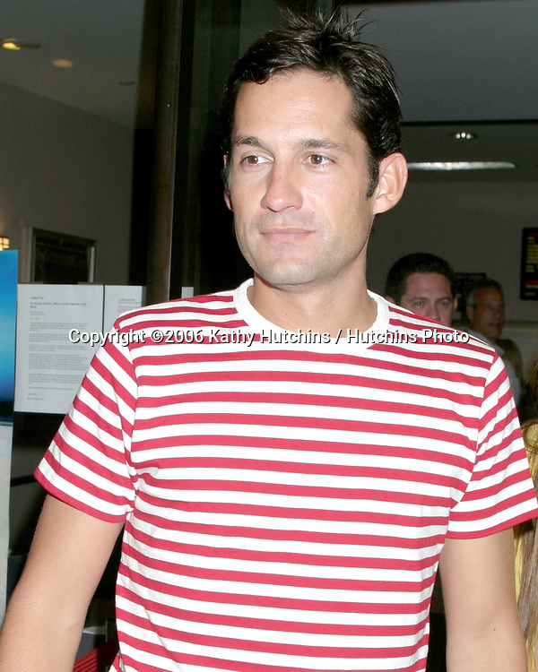 """Enrique Murciano.""""How to Go On a Date In Queens"""" LA Screening.Laemmle's Music Hall.Beverly Hills, Ca.July 28, 2006.©2006 Kathy Hutchins / Hutchins Photo...."""