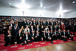 Goya awarded pose during 30th Goya Awards ceremony in Madrid, Spain. February 06, 2016. (ALTERPHOTOS/Victor Blanco)