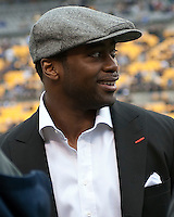 Former Pitt and New York Jets running back Curtis Martin. The Pittsburgh Panthers defeated the South Florida Bulls 41-14 at Heinz Field, Pittsburgh, PA on October 24, 2009.