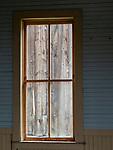 Elkhorn Ghost Town Window
