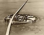Historic Overseas Highway through Pigeon Key, Florida Keys