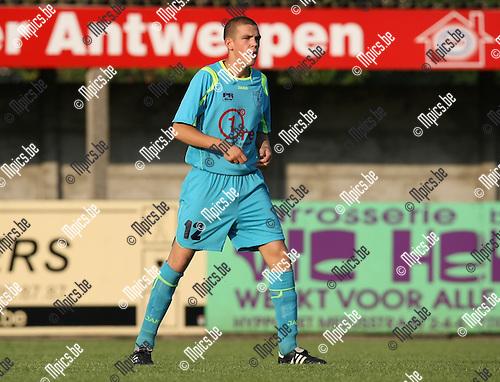 2009-08-06 / Voetbal / seizoen 2009-2010 / KFCO Wilrijk / Glen De Cock..Foto: Maarten Straetemans (SMB)