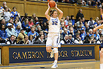 02 January 2012: Duke's Tricia Liston. The Duke University Blue Devils defeated the University of Virginia Cavaliers 77-66 at Cameron Indoor Stadium in Durham, North Carolina in an NCAA Division I Women's basketball game.