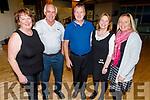 Maura Daly (Farrenfore), Tim Kissane (Fossa), Peter O'Connor (Currow), Elizabeth Kelliher (Kenmare) and Angela Griffin (Chorca Chuibhne) at the 60th Celebration Céilí for Comhaltas Ceoltóirí Éireann in the Duchas Comhaltas Centre, IT Tralee on Sunday.
