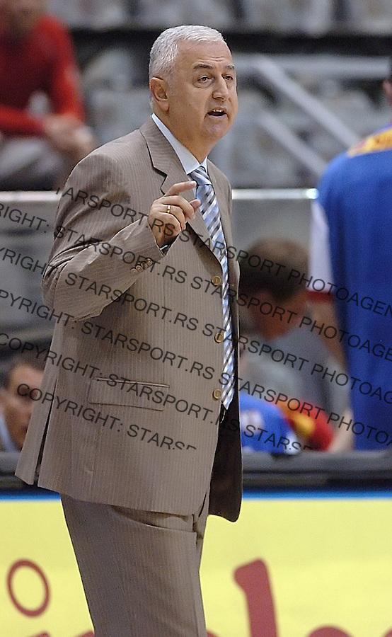 SPORT KOSARKA REPREZENTACIJA SRBIJA CRNA GORA MAKEDONIJA BASKETBALL NATIONAL TEAM SERBIA MONTENEGRO  Sakota 5.8.2006. foto: Pedja Milosavljevic<br />