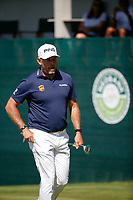 Lee Westwood (ENG) on the 18th during the final round of the Nedbank Golf Challenge hosted by Gary Player,  Gary Player country Club, Sun City, Rustenburg, South Africa. 11/11/2018 <br /> Picture: Golffile | Tyrone Winfield<br /> <br /> <br /> All photo usage must carry mandatory copyright credit (&copy; Golffile | Tyrone Winfield)