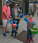 The Horn family during the Easter Egg Hunt at Legends in Sparks, Nevada on Saturday, April 20, 2019.
