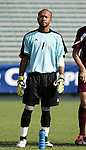 Boston College's Issey Maholo on Tuesday, November 8th, 2005 at SAS Stadium in Cary, North Carolina. The Wake Forest Demon Deacons defeated the Boston College Eagles 4-0 during their Atlantic Coast Conference Tournament Play-In game.