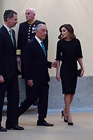 King Felipe VI, President of the Portuguese Republic, Mr. Marcelo Rebelo de Sousa and Queen Letizia